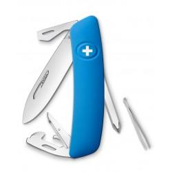 Нож перочинный SWIZA D04, синий